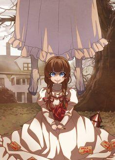 Queira uma serie anime dos filme de terror:')