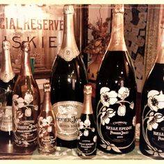 Belle époque collection - Perrier Jouet franch champagne. My choice for my wedding reception.