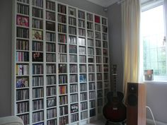 Furniture Interesting CD Storage Solution Ideas Mega CD Storage