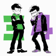 Nenchumatsu with glasses during high school