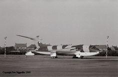 RAF Handley Page Victor XA932 at Marham.