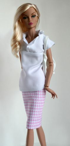 Poppy Parker Fashion Teen White Blouse and by SweetSixteenShop, $17.99