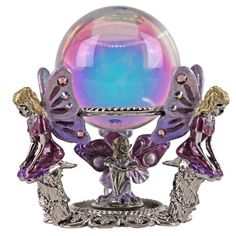 Fairy Go Round Crystal Ball - Exclusively for our 2012 Collector Club Members: Kirks Folly Online Web Store