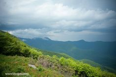 Beautiful view from the Graybeard Mountain overlook on the Blue Ridge Parkway near Asheville, North Carolina. See this Instagram photo by @ashevillephotography