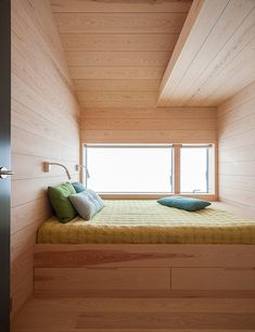 Call it a back to basics movement, but we're loving this 'Mountain Cottage' designed by the Norwegian firm Pushak Architects in Inspired by old farm buildings, the long, slim house boasts incredible mountain views and a simple design. Cabins In The Woods, House In The Woods, Home Renovation, Getaway Cabins, Cabin Kits, Micro House, Tiny Spaces, Wooden House, Tiny House Design