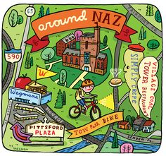 Nazareth Campus Map.18 Best Nazareth College Images Campus Map Map Illustrations Maps