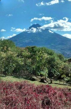 Volcan de agua Guatemala.