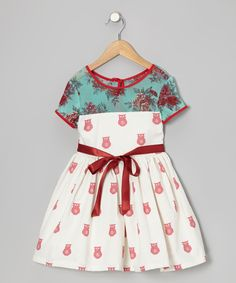 Red & Blue Clementine Dress by Moxie & Mabel - too cute!