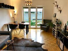 Gemütliches Wohnzimmer einer Wohngemeinschaft in #Frankfurt