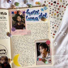 Study Journal, Journal Diary, Journal Ideas, Bullet Journal, Franklin Covey, Notebook Ideas, Paper Crafts, Diy Crafts, Kpop