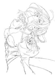 """""""全鯖描いてみる005 『ネロ・クラウディアス』 シャフ度描いてみたかった"""""""