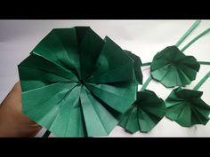 Origami And Kirigami, Diy Origami, Paper Leaves, Paper Flowers, Leaf Crafts, Diy And Crafts, Diy Paper, Paper Crafts, Origami Leaves