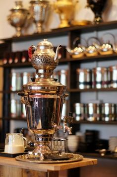 Travelling Samovar is a beautiful tea house that caters well for kids - high chairs, change table, kids menu http://tothotornot.com/2013/09/hot-travelling-samovar-412-rathdowne-st-north-carlton/