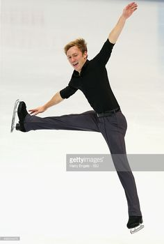 Ross Miner of the USA skates during the Men's Short Program on day one of the Rostelecom Cup ISU Grand Prix of Figure Skating 2015 at the Luzhniki Palace of Sports on November 20, 2015 in Moscow, Russia.