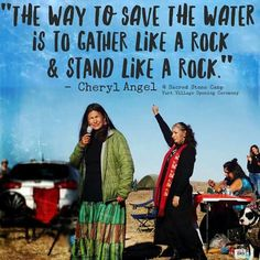 Americans stand with Standing Rock!