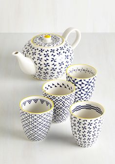 Kitchen & Dining - Because of Brew Tea Set