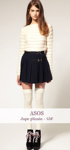 Classy school girl outfit have a shirt and skirt like that