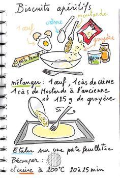 Biscuit aperitif tambouille
