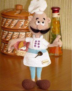 Knitted Doll Patterns, Crotchet Patterns, Crochet Doll Pattern, Knitted Dolls, Crochet Patterns Amigurumi, Amigurumi Doll, Minion Crochet, Creative Knitting, Crochet Books