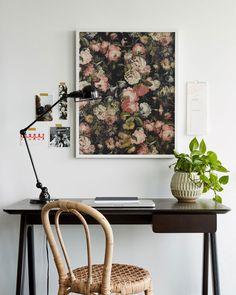 Framing Wallpaper as Artwork