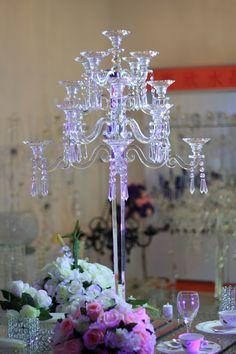 ZT-183. Q3700.00 o $528.50 17 arms crystal candelabra H105*W68
