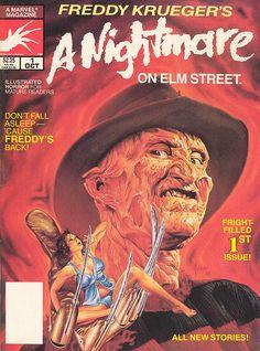 Freddy Krueger's A Nightmare on Elm Street Magazine (1989)
