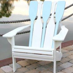 Adirondak chair ~ paddle style back