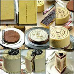 Simple cake idea~nyum nyum!