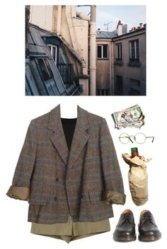 """""""covert"""" by paper-freckles ❤ liked on Polyvore featuring Marc by Marc Jacobs, Dr. Martens and Oliver Peoples"""