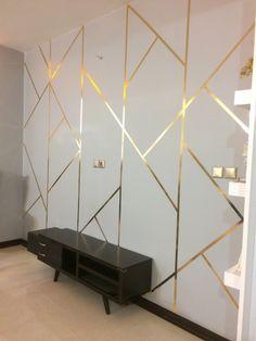 Girl Bedroom Walls, Bedroom Wall Colors, Room Design Bedroom, Home Room Design, Mirror Decor Living Room, Living Room Wall Units, Wall Tiles Design, Wall Decor Design, Small House Interior Design