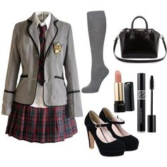 young girls in school uniforms 5 best outfits