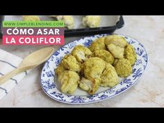 Cómo asar la coliflor | Coliflor al horno con especias | Coliflor especiada - YouTube Chefs, Smoothies, Wok, Muffin, Chicken, Cooking, Breakfast, Ethnic Recipes, Carne