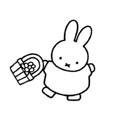 Miffy color page - Coloring pages for kids - Cartoon characters coloring pages - printable coloring pages - color pages - kids coloring pages - coloring sheet - coloring page - coloring book - kid color page - cartoons coloring pages Free Printable Coloring Pages, Coloring For Kids, Coloring Pages For Kids, Coloring Sheets, Coloring Books, Kids Cartoon Characters, Doodle Icon, Miffy, Cartoon Coloring Pages