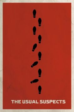 Brilliant poster for The Usual Suspects - by Matt Owen