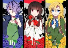 Garry, Ib and Mary Rpg Maker, Maker Game, Ib And Garry, Alice Mare, Game 2d, Mad Father, Mundo Dos Games, Scary Games, Rpg Horror Games