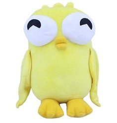 Disney-Phineas-and-Ferb-3D-Eye-Yellow-Duck-Plush-Doll-Toy-Christmas-Xmas-Gift