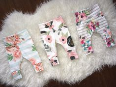 handmade baby leggings, hoodies, and Cute Outfits For Kids, Cute Kids, Baby Girl Leggings, Coming Home Outfit, Floral Leggings, Newborn Outfits, Baby Shop, Handmade Baby, Stockings
