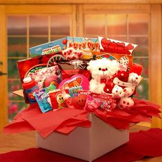My Little Sweethearts Care Package Valentine's Gift Basket