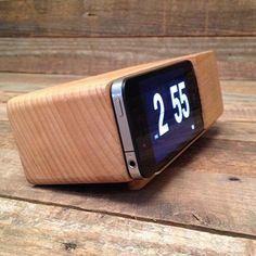 IPhone Alarm Clock Dock  At TROHV | $42.50