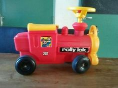 Cute ride on toy from the late 1970's