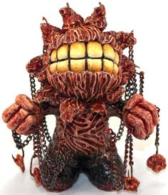 'Murmur' by Alarment. A creepy Kidrobot Mascot to start your saturday ... enjoy. :)