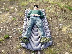 Cover: Klymit Static V Luxe inflatable mattress