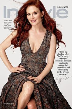 Julianne Moore for Instyle October 2013