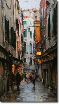Dmitri Danish- Early Twilight Venice