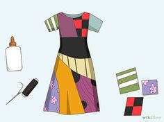 Make a Sally Costume from the Nightmare Before Christmas Step 2.jpg