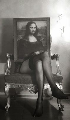 Mona Lisa - She's Got Legs! (© Salim Berrada)