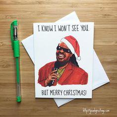 Stevie Wonder Christmas Card Inappropriate Christmas Humor