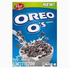 Oreos, Oreo O's Cereal, Nutella, Biscuit Oreo, Kitchen Decals, House Color Palettes, Biscuits, Cookie Flavors, Custom Decals