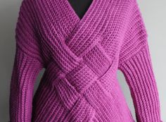 Crochet Mongolian Warrior Pullover | Nicky Knits by Nicky Epstein