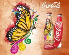 Coca-Cola Bicentenario México: Michoacán. #Coke #CocaCola #Mexico #BottleArtwork